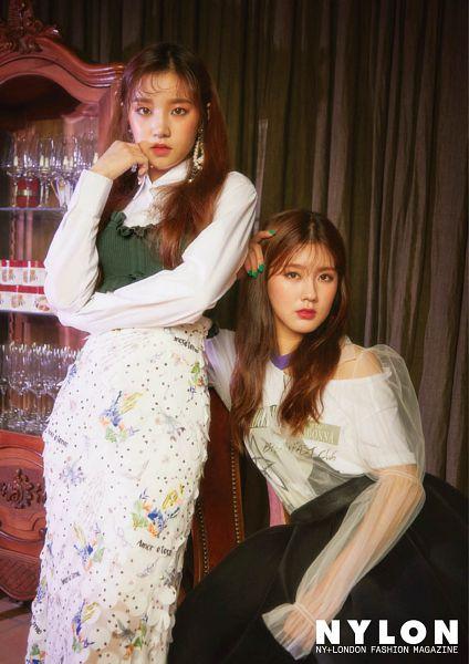 Tags: K-Pop, (G)-I-DLE, Song Yuqi, Cho Miyeon