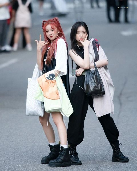 Tags: K-Pop, (G)-I-DLE, Yeh Shuhua, Song Yuqi
