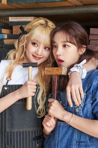 Tags: K-Pop, (G)-I-DLE, Minnie, Song Yuqi