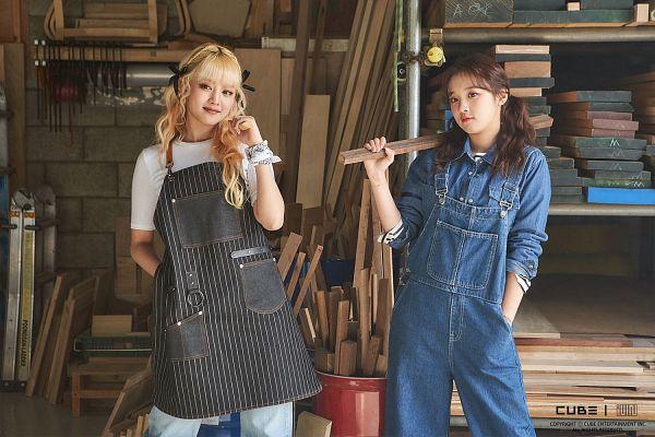 Tags: K-Pop, (G)-I-DLE, Song Yuqi, Minnie