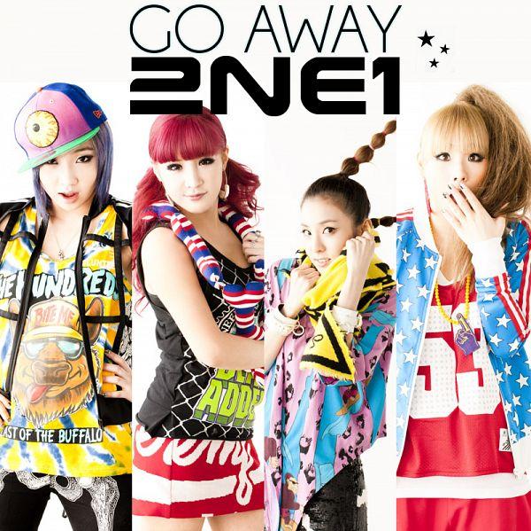 Tags: K-Pop, 2NE1, Go Away, Park Bom, Sandara Park, Minzy, CL, Black Pants, Skirt, Braids, Ponytail, Red Dress