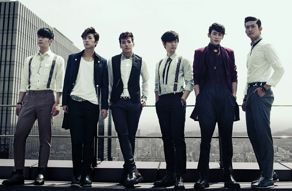 Tags: K-Pop, 2PM, Jang Wooyoung, Lee Junho, Nichkhun, Hwang Chansung, Ok Taecyeon, Jun.K, Wallpaper