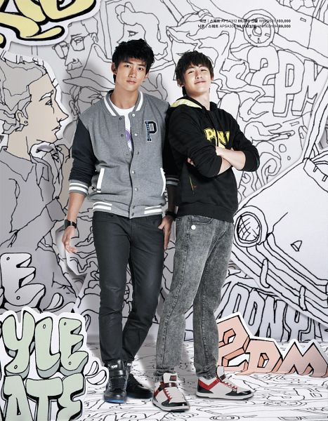 Tags: K-Pop, 2PM, Ok Taecyeon, Nichkhun, Android/iPhone Wallpaper
