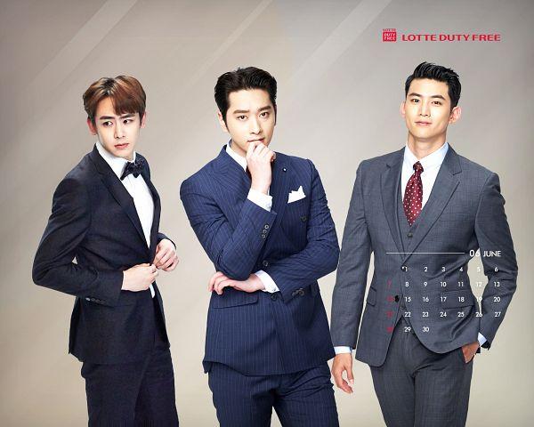 Tags: K-Pop, 2PM, Hwang Chansung, Ok Taecyeon, Nichkhun, Group, Calendar, Lotte