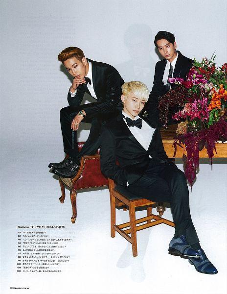 Tags: K-Pop, 2PM, Lee Junho, Hwang Chansung, Jun.K, Group, Android/iPhone Wallpaper, Scan, Magazine Scan, Numéro Tokyo
