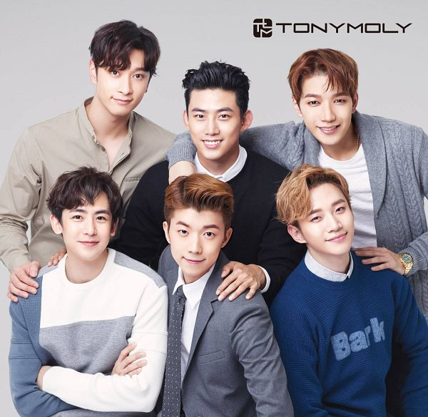 Tags: K-Pop, 2PM, Jang Wooyoung, Lee Junho, Nichkhun, Hwang Chansung, Ok Taecyeon, Jun.K, Tonymoly