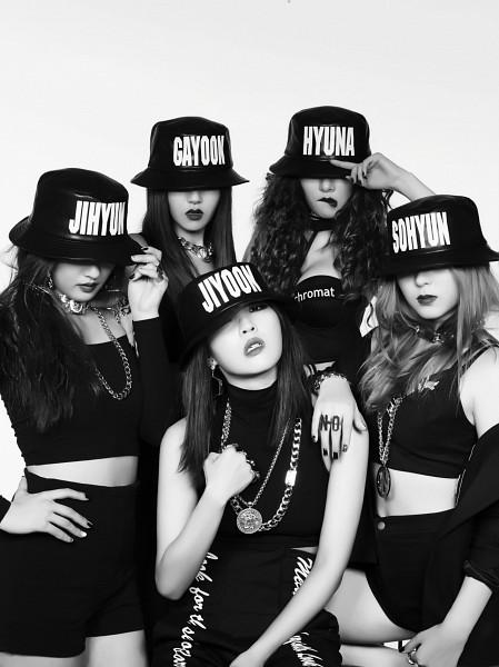 Tags: K-Pop, 4Minute, Crazy, Jiyoon, Sohyun, Hyuna, Nam Ji-hyun (singer), Gayoon, Android/iPhone Wallpaper