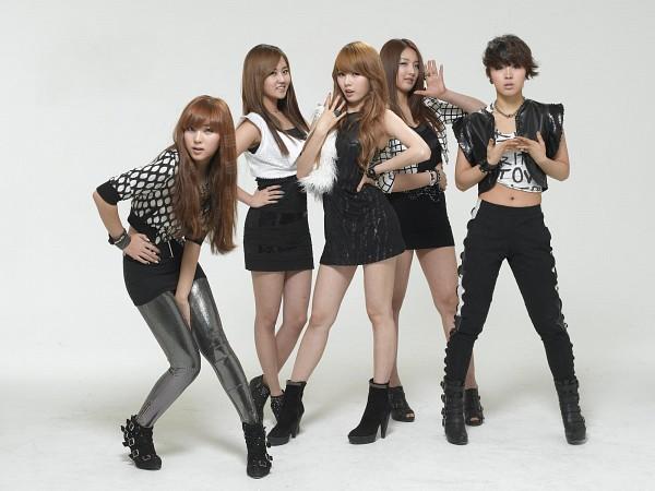 Tags: K-Pop, 4Minute, Gayoon, Jenyer, Sohyun, Son Jihyun, Hyuna, Wallpaper