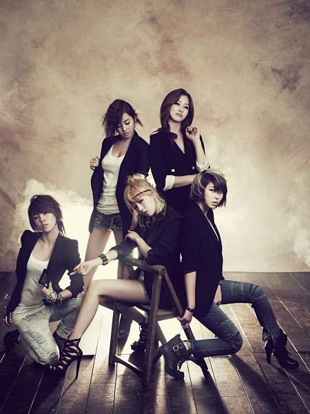 Tags: K-Pop, 4Minute, Jenyer, Sohyun, Hyuna, Son Jihyun, Gayoon, Android/iPhone Wallpaper