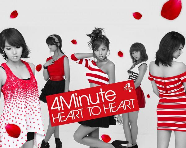 Tags: K-Pop, 4Minute, Heart to Heart, Hyuna, Son Jihyun, Gayoon, Jenyer, Sohyun
