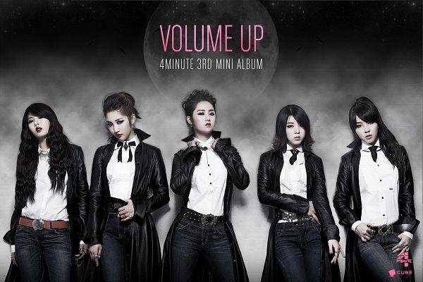Tags: K-Pop, 4Minute, Nam Ji-hyun (singer), Hyuna, Gayoon, Jiyoon, Sohyun, Volume Up, Wallpaper