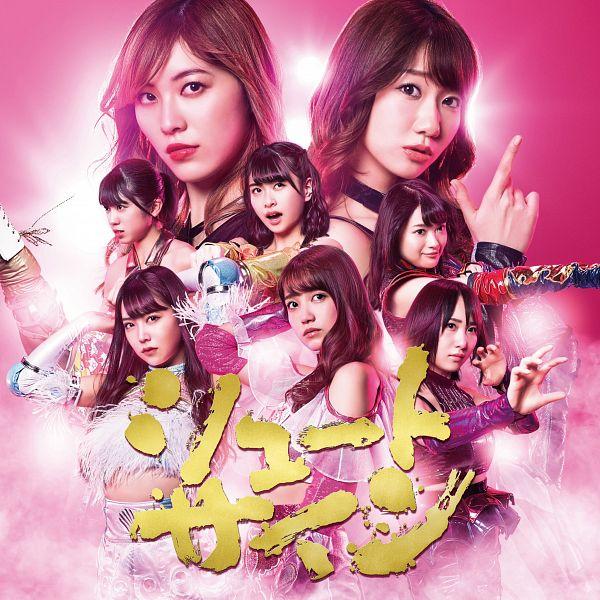 Tags: J-Pop, AKB48, Shoot Sign, Kitahara Rie, Matsuoka Hana, Kashiwagi Yuki, Onishi Momoka, Kato Rena, Shiroma Miru, Takahashi Juri, Matsui Jurina, Pink Background