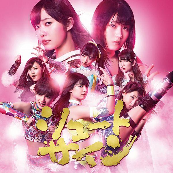 Tags: J-Pop, AKB48, Shoot Sign, Oguri Yui, Yokoyama Yui, Okada Nana, Haruka Komiyama, Yoshida Akari, Mutou Tomu, Sashihara Rino, Kizaki Yuria, Pink Background