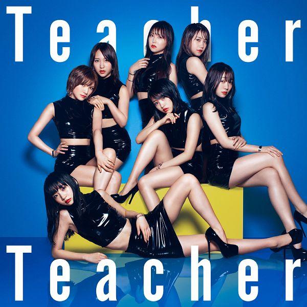 Tags: J-Pop, AKB48, Teacher Teacher, Mukaichi Mion, Shiroma Miru, Suda Akari, Kojima Mako, Ogino Yuka, Okada Nana, Takahashi Juri, Full Body, Bare Shoulders