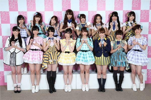 Tags: J-Pop, AKB48, Kobayashi Ami, Yoshida Akari, Nagao Mariya, Ogasawara Mayu, Tanabe Miku, Maeda Ami, Yamauchi Suzuran, Iwatate Saho, Makiko Saito, Murashige Anna