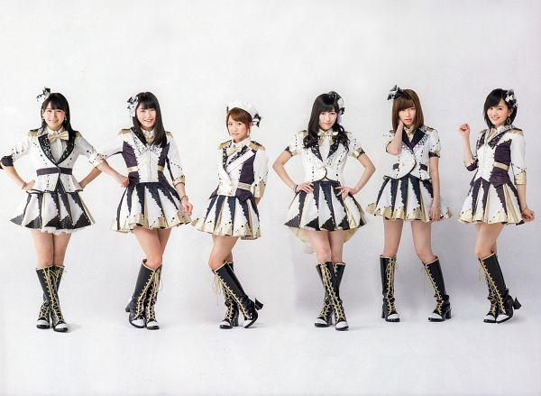 Tags: J-Pop, AKB48, NMB48, Shimazaki Haruka, Kojima Mako, Mayu Watanabe, Takahashi Minami, Yokoyama Yui, Sayaka Yamamoto, Hat, Full Body, Skirt