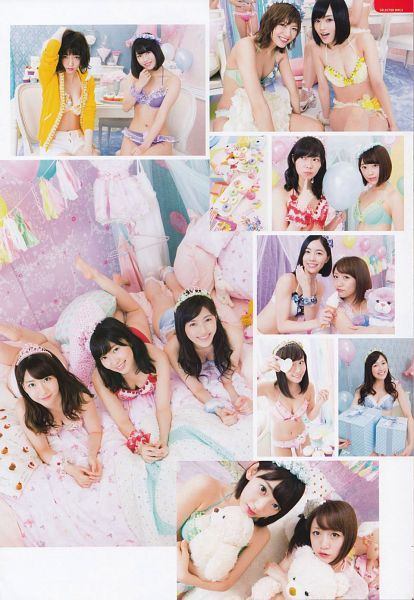 Tags: J-Pop, HKT48, NMB48, AKB48, Mayu Watanabe, Yokoyama Yui, Shibata Aya, Takahashi Minami, Sayaka Yamamoto, Matsui Jurina, Shimazaki Haruka, Sashihara Rino