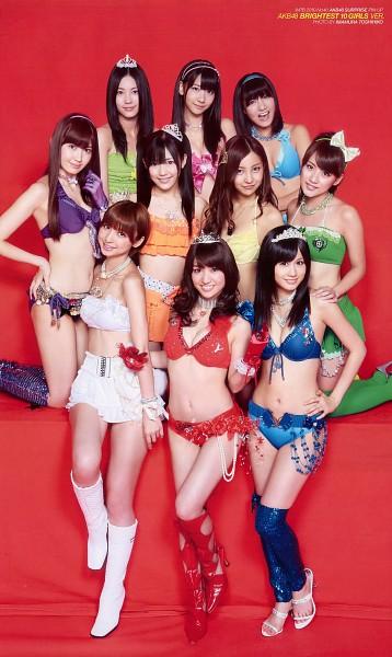 Tags: J-Pop, AKB48, Atsuko Maeda, Kashiwagi Yuki, Takahashi Minami, Shinoda Mariko, Haruna Kojima, Tomomi Itano, Oshima Yuko, Matsui Jurina, Miyazawa Sae, Tiara