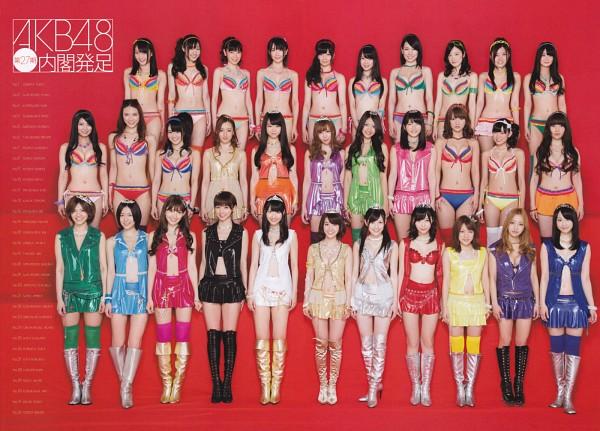 Tags: J-Pop, AKB48, Takayanagi Akane, Kashiwagi Yuki, Sato Amina, Masuda Yuka, Kizaki Yuria, Miyazawa Sae, Suda Akari, Mayu Watanabe, Akimoto Sayaka, Matsui Rena