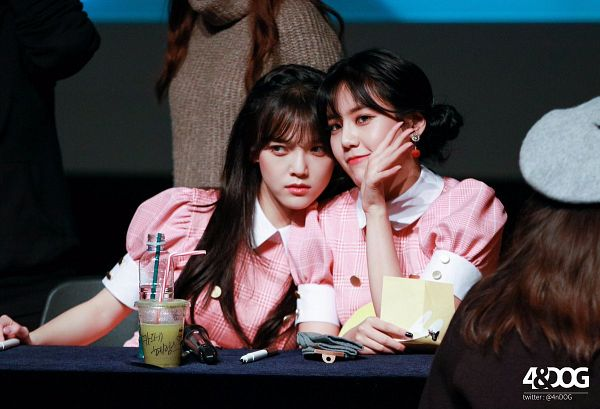 Tags: K-Pop, AOA (Ace Of Angels), Shin Jimin, Shin Hyejeong, Fansigning Event