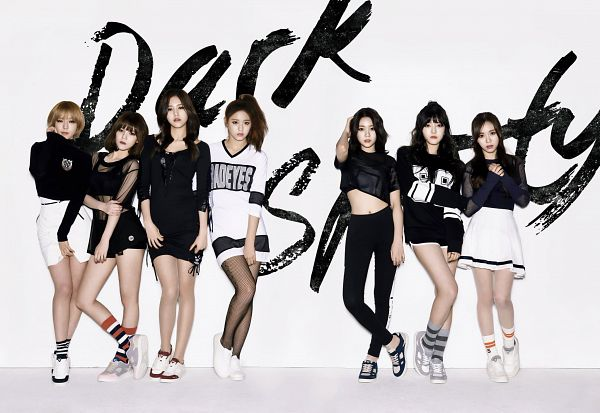 Tags: K-Pop, AOA (Ace Of Angels), Shin Hyejeong, Shin Jimin, Kim Seolhyun, Kwon Mina, Seo Yuna, Park Choa, Kim Chanmi, Full Body, Blonde Hair, Full Group