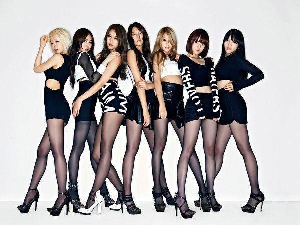 Tags: K-Pop, AOA (Ace Of Angels), Kim Seolhyun, Kwon Mina, Seo Yuna, Park Choa, Kim Chanmi, Shin Hyejeong, Shin Jimin, Full Group, Wallpaper
