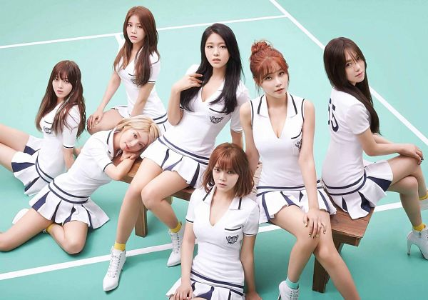 Tags: K-Pop, AOA (Ace Of Angels), Heart Attack, Shin Jimin, Kwon Mina, Seo Yuna, Park Choa, Kim Chanmi, Shin Hyejeong, Kim Seolhyun, White Dress, Cleavage