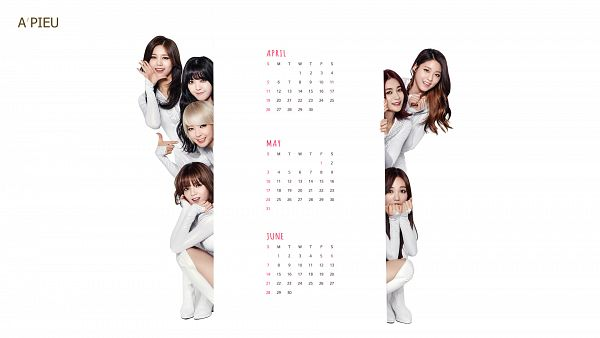 Tags: K-Pop, AOA (Ace Of Angels), Kim Seolhyun, Shin Jimin, Kwon Mina, Seo Yuna, Park Choa, Kim Chanmi, Shin Hyejeong, Group, White Outfit, Bent Knees