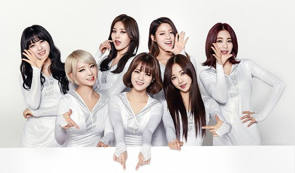 Tags: K-Pop, AOA (Ace Of Angels), Kwon Mina, Seo Yuna, Park Choa, Kim Chanmi, Shin Hyejeong, Shin Jimin, Kim Seolhyun, White Outfit, Nail Polish, White Dress