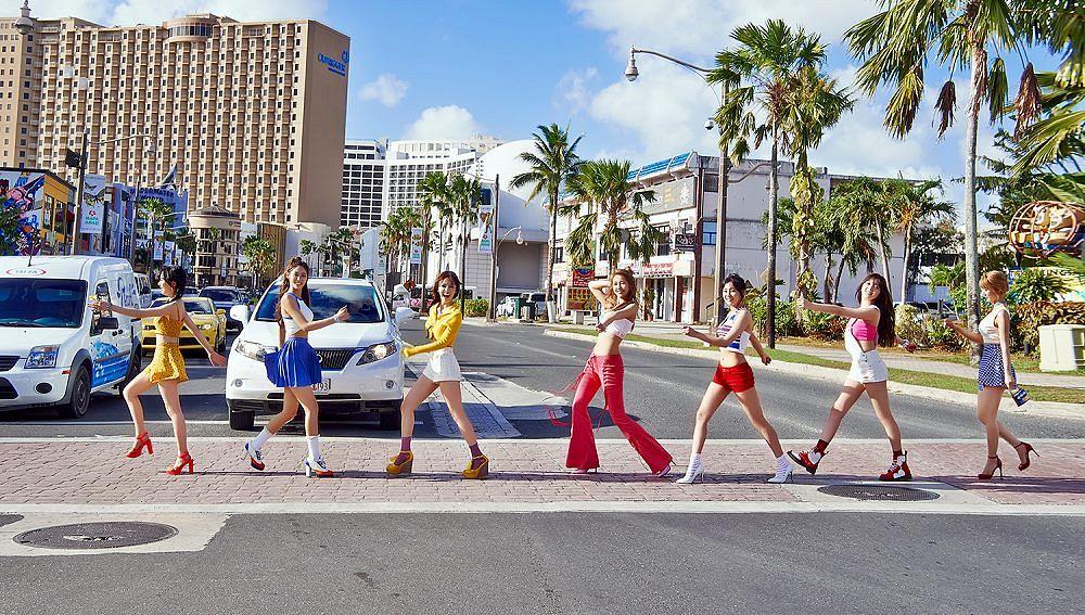 Tags: K-Pop, AOA (Ace Of Angels), Good Luck (Song), Kim Chanmi, Kim Seolhyun, Kwon Mina, Park Choa, Shin Jimin, Shin Hyejeong, Seo Yuna, Yellow Skirt, White Footwear