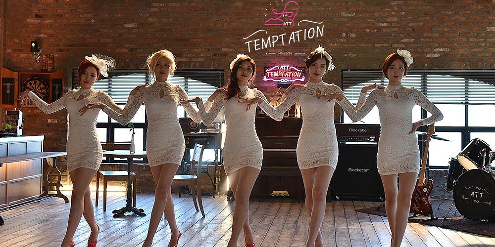 Tags: K-Pop, ATT (Asia Twinkle Treasure), Temptation, Kwak Yujeong, Joo Ayeong, Lee Seyeon, Bae Seohee, Yunjong, Lace, Red Lips, Quintet, Dancing