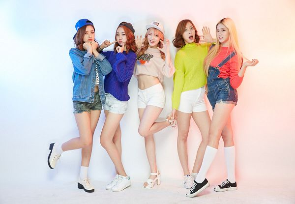 Tags: K-Pop, ATT (Asia Twinkle Treasure), Pop It Up, Sebi, Kwak Yujeong, Joo Ayeong, Lee Seyeon, Bae Seohee, Quintet, Hat, Sweater, Midriff