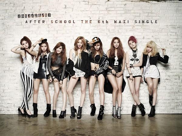 Tags: K-Pop, After School, Lee Jooyeon, Uee, Lee Gaeun, E-young, Nana, Lizzy, Kim Jungah, Raina, Red Hair, Tongue