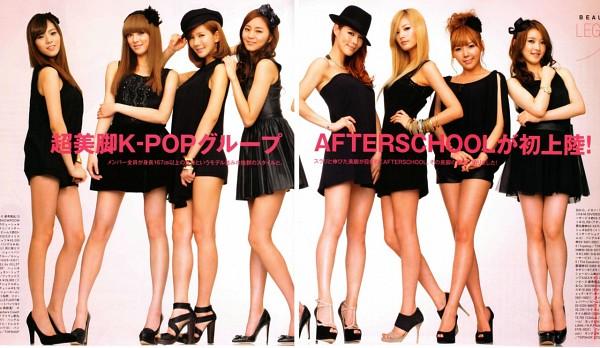 Tags: K-Pop, After School, Lee Jooyeon, E-young, Lizzy, Nana, Raina, Kahi, Uee, Kim Jungah, Hat, Bracelet