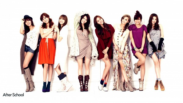 Tags: K-Pop, After School, Raina, Kahi, Uee, Lee Jooyeon, Nana, E-young, Lizzy, Kim Jungah, Gloves, Boots