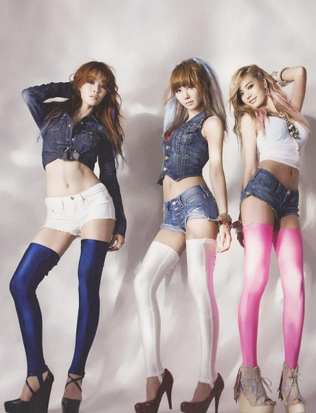 Tags: K-Pop, After School, Kahi, Kim Jungah, Nana, No Background, Hand On Head, Necklace, Jeans, Denim Shirt, High Heels, Denim Shorts