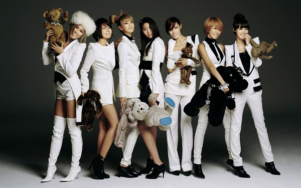 Tags: K-Pop, After School, Kahi, Lee Jooyeon, Kim Jungah, Raina, Bekah, Uee, Nana, High Heeled Boots, High Heels, Stuffed Toy