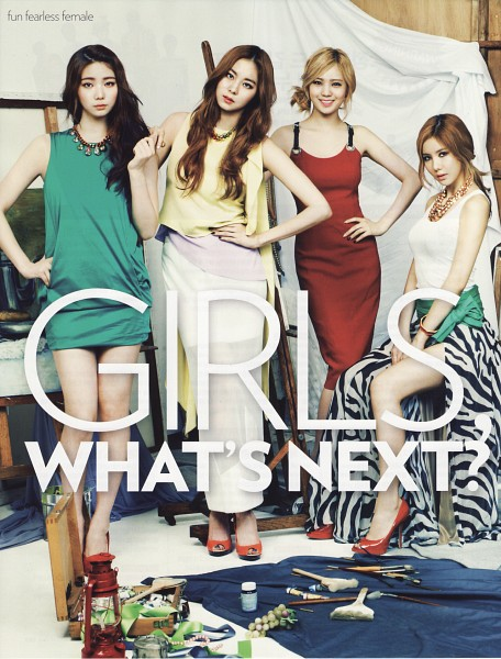 Tags: K-Pop, After School, Lizzy, Uee, Lee Gaeun, Kim Jungah, High Heels, Bracelet, Hand On Hip, Brush, Necklace, Android/iPhone Wallpaper