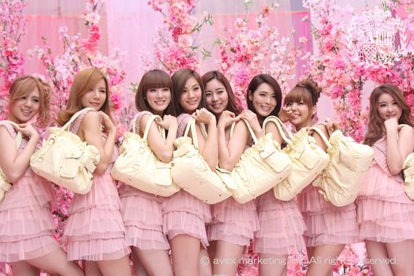 Tags: K-Pop, After School, Lee Jooyeon, Nana, E-young, Kim Jungah, Lizzy, Raina, Kahi, Uee, Flower, Purse