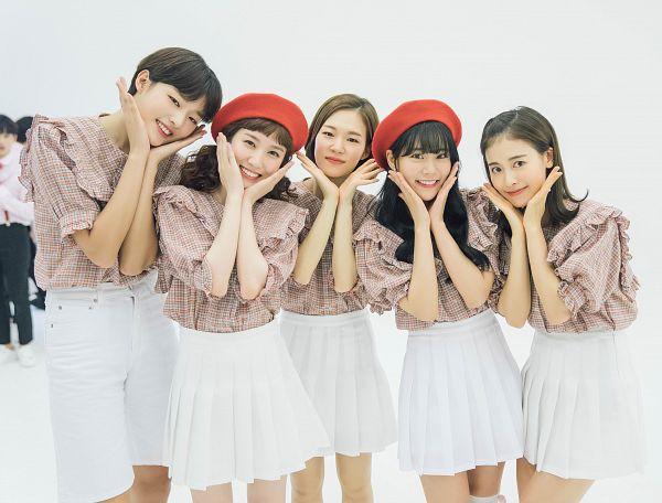 Tags: K-Drama, Park Eun-bin, Ji Woo, Choi A-ra, Seungyeon Han, Han Ye-ri, Quintet, Skirt, Group, White Shorts, Shorts, White Skirt