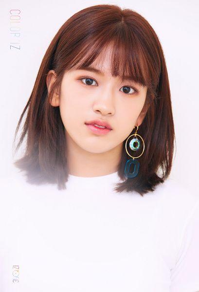Tags: K-Pop, IZ*ONE, Ahn Yujin, Serious, Medium Hair