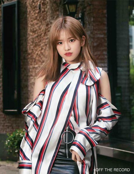 Tags: K-Pop, IZ*ONE, Ahn Yujin, Serious, Red Lips