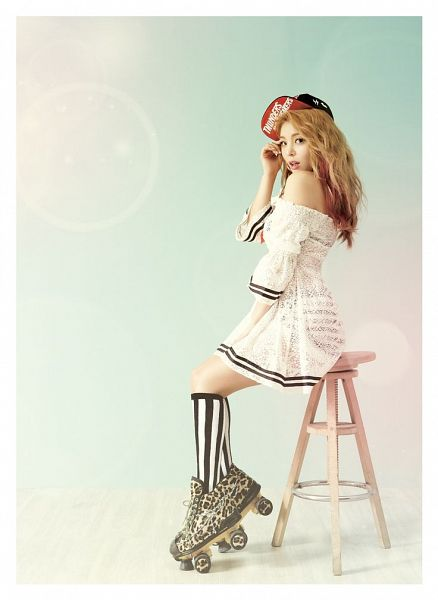 Tags: K-Pop, Ailee, Roller Skates