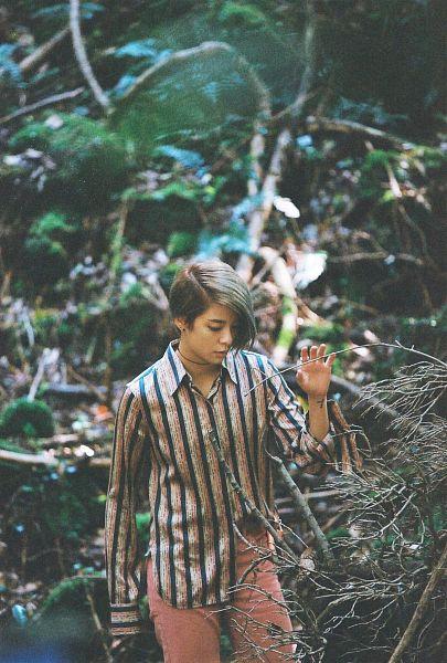 Tags: K-Pop, f(x), Amber Liu, Striped Shirt, Striped, Tattoo, Choker, Android/iPhone Wallpaper, 4 Walls