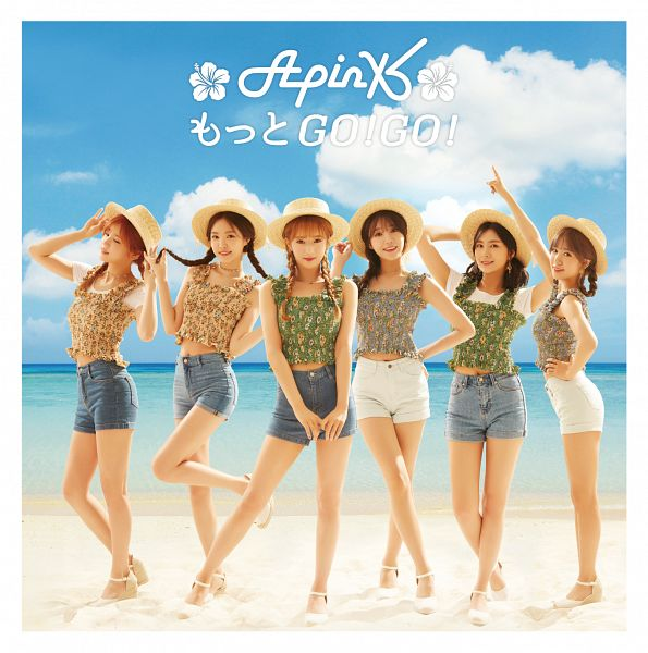 Tags: K-Pop, J-Pop, Apink, Motto Go! Go!, Yoon Bo-mi, Park Cho-rong, Jung Eun-ji, Kim Nam-joo, Oh Ha-young, Son Na-eun, Beach, Short Sleeves