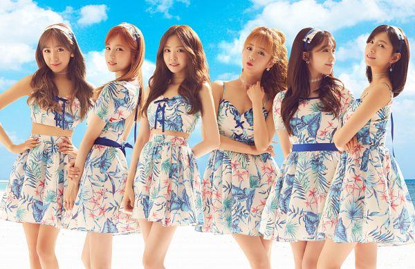 Tags: J-Pop, K-Pop, Apink, Motto Go! Go!, Son Na-eun, Yoon Bo-mi, Park Cho-rong, Jung Eun-ji, Kim Nam-joo, Oh Ha-young, Text: Song Title, Sky