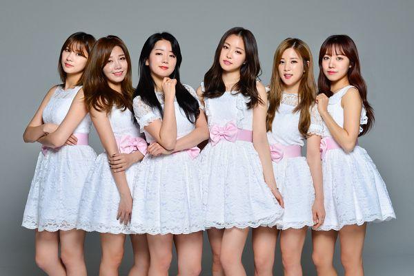 Tags: K-Pop, Apink, Brand New Days, Oh Ha-young, Son Na-eun, Yoon Bo-mi, Park Cho-rong, Jung Eun-ji, Kim Nam-joo, Sleeveless, Full Group, Bare Shoulders