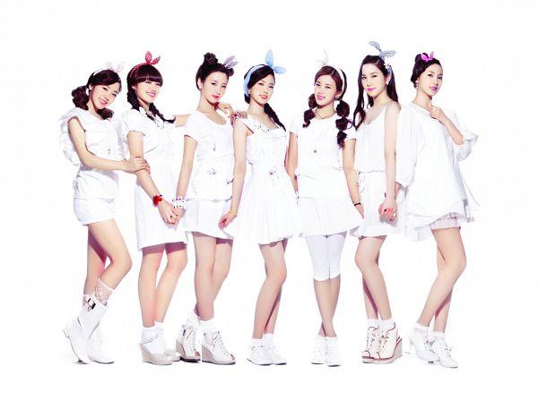 Tags: K-Pop, Apink, Oh Ha-young, Son Na-eun, Yoon Bo-mi, Park Cho-rong, Jung Eun-ji, Kim Nam-joo, Hong Yoo-kyung, White Outfit, Light Background, White Background