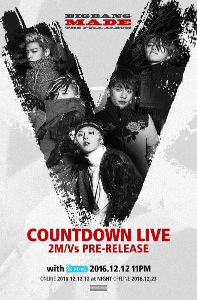 Tags: YG Entertainment, K-Pop, BIGBANG, G-Dragon, Kang Daesung, Taeyang, Seungri, T.O.P., MADE, Poster, Android/iPhone Wallpaper