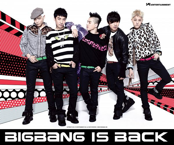 Tags: K-Pop, BIGBANG, G-Dragon, Kang Daesung, Seungri, Taeyang, T.O.P., Belt, Light Background, Black Outerwear, Looking Away, Striped Shirt